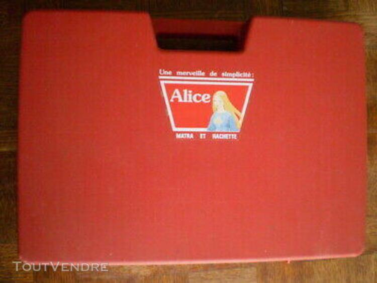 Micro ordinateur alice 32 matra & hachette 1982 microsoft ma
