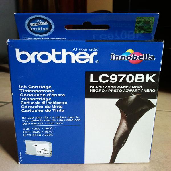 Cartouche d'encre noire brother lc970 neuve neuf/revente,