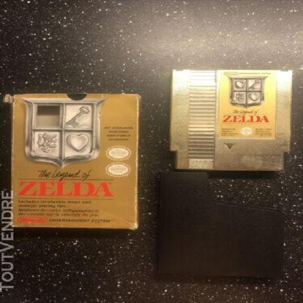 Jeux nintendo nes the legend of zelda 1 francais boite fourr