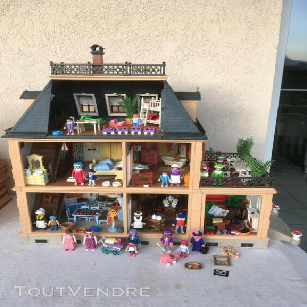 Maison 5300 victorienne 1900 playmobil meublée 5310 5320