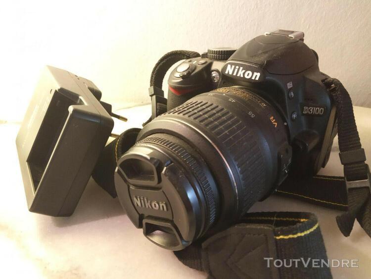 Nikon d3100 appareil photo numérique - objectif dx 18-55 mm