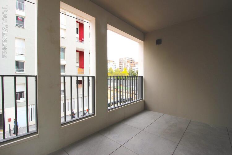 Appartement t2 neuf avec terrasse