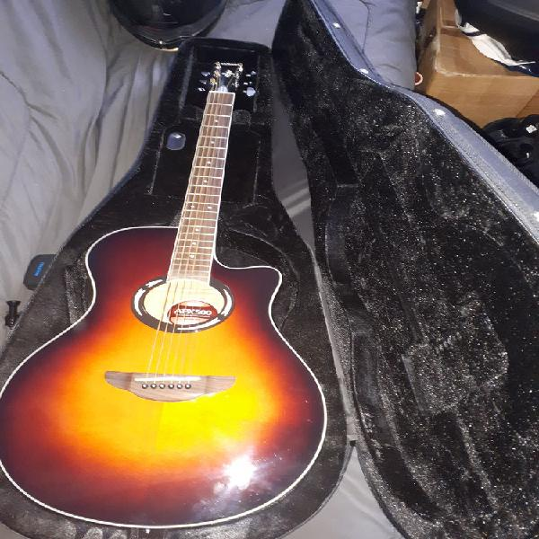 Guitare yamaha apx 500 neuf/revente, paris (75015)