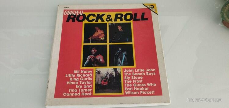 Rock & roll - original - 2 disques lp 33 tours - bill haley,
