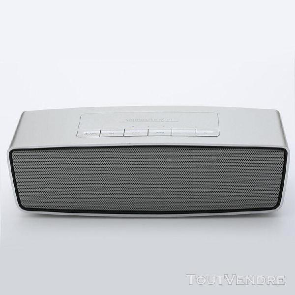 Wireless bluetooth speaker enceintes portables gris fonction
