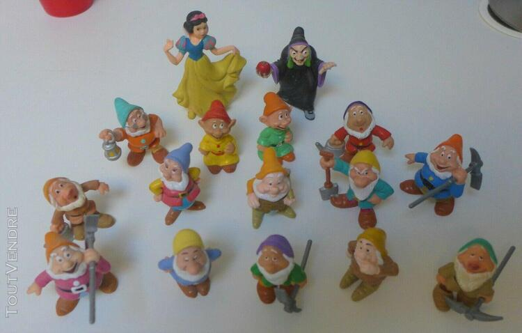 Blanche neige et ses nains bully 16 figurines