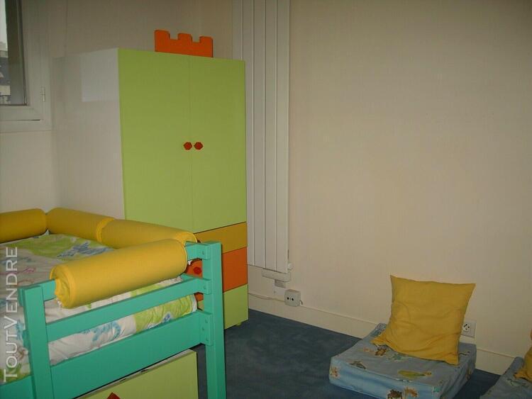 Chambre complète enfant (vibel) - lit - armoire - bureau -