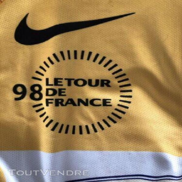 Maillot jaune tour de france yellow jersey maglia gialla pan
