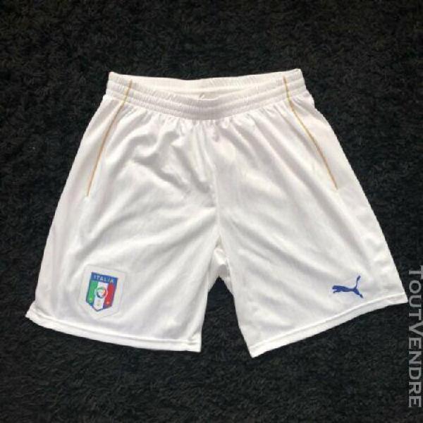 Puma athletes short bas italian team italia figc azzurri 201