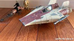 star wars- vaisseau et speeder bike