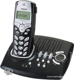 Téléphone fixe sans fil répondeur occasion, loos (59120)