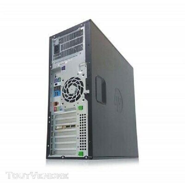 Serveur hp workstation z420 1 x xeon quad core e5-1620 16 go
