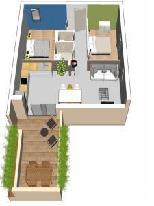 Appartement à vendre agde 3 pièces 82 m2 herault