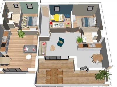 Appartement à vendre agde 4 pièces 101 m2 herault