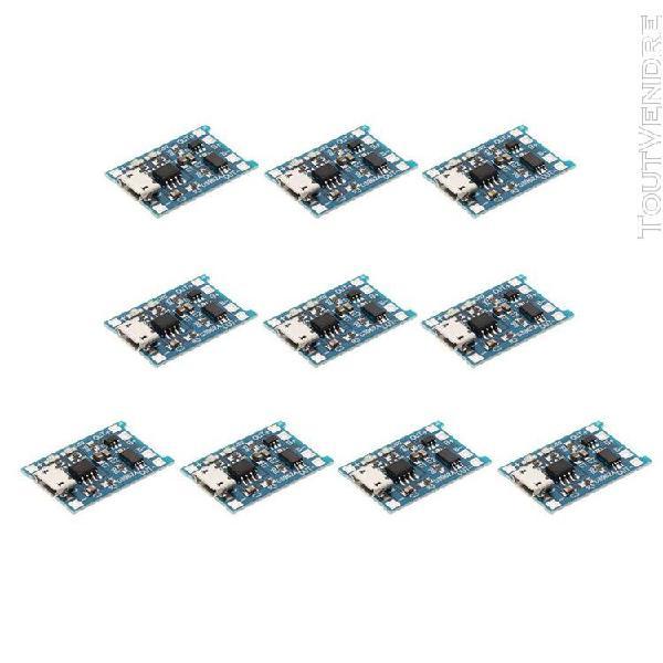 10pcs module de charge usb panneau de protection