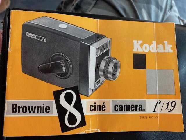 Camera kodak 8 ciné caméra f/1.9 occasion,