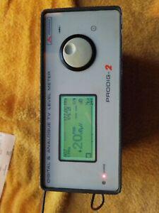 Digital & analogique tv level meter   prodig