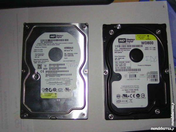 Disque dur 80gb marque western occasion, tourcoing (59200)