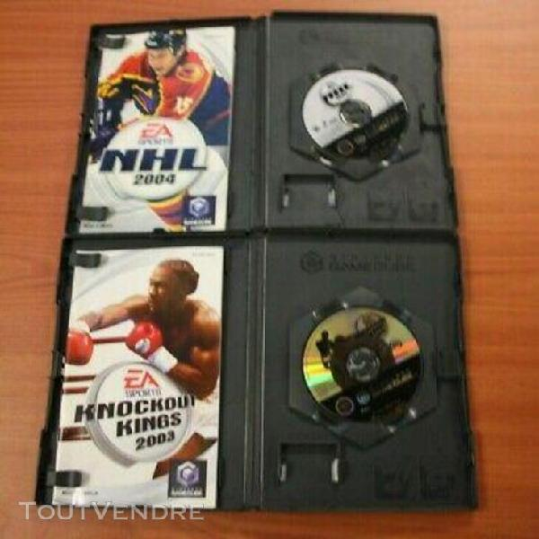 Lot 8 jeux nintendo game cube sport fifa..... complet vf ma