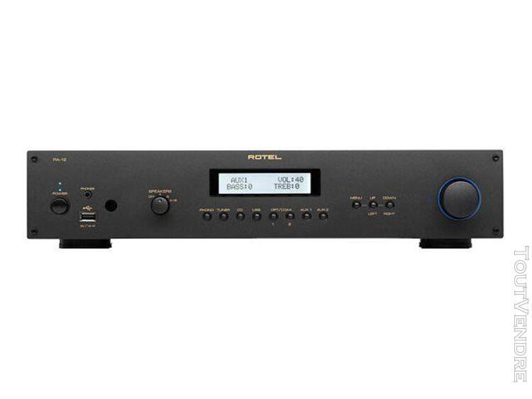Rotel ra-12 - amplificateur - noir