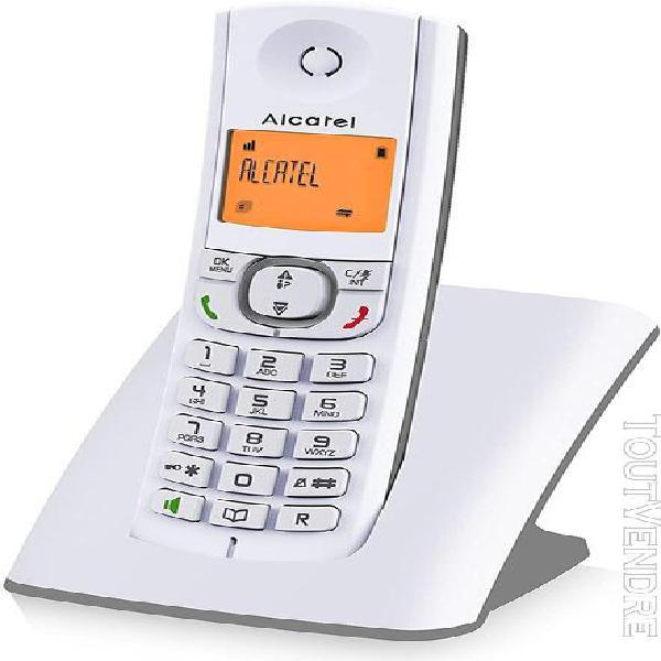Téléphone sans fil dect avec fonction main libres et grand