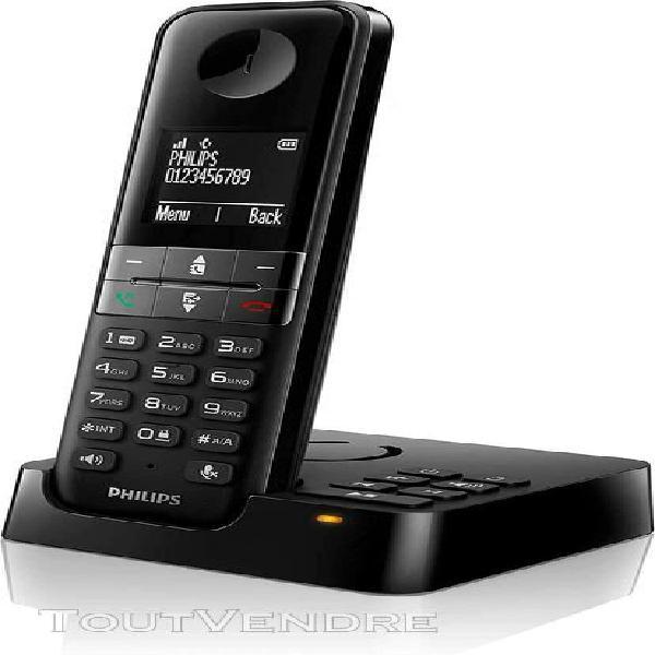 Téléphone sans fil dect d'intérieur simple avec