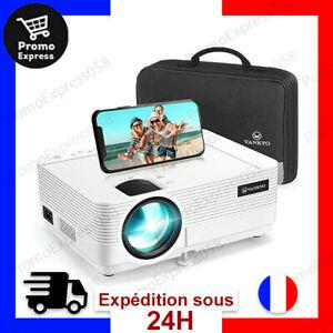 Videoprojecteur 1080p full hd projecteur 5000 lumens retro