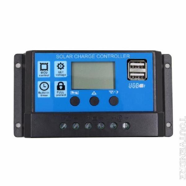10a 12v 24v travail automatique pwm controleur de charge sol