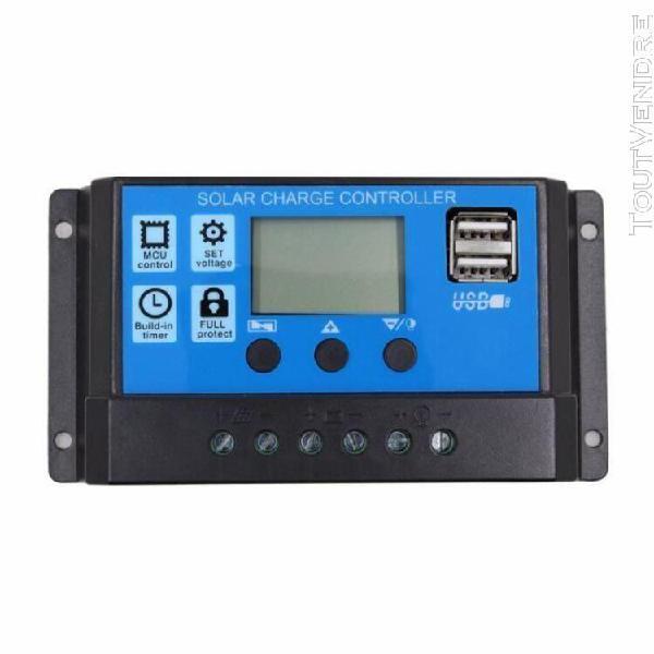 20a 12v 24v travail automatique pwm controleur de charge sol