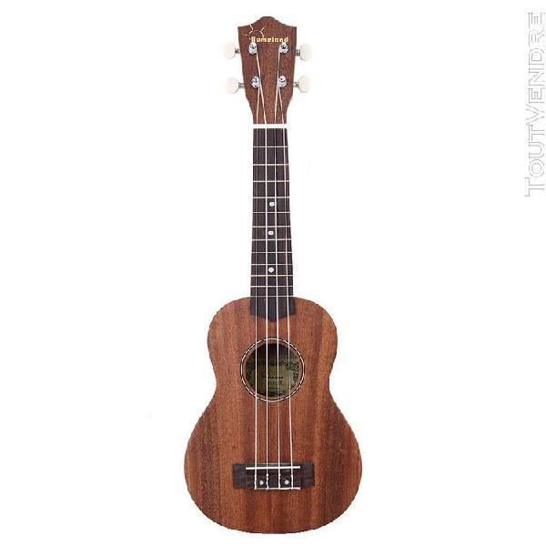 21 pouces petite hawaïen 4 cordes de guitare ukulele - bois