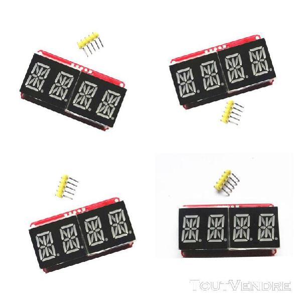 """4 pcs 4 digit 0.54 """"matrice de module d'affichage à led"""