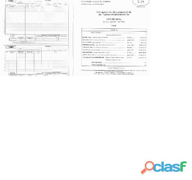 Annales et corrigés Titra ASCA, assistante comptable