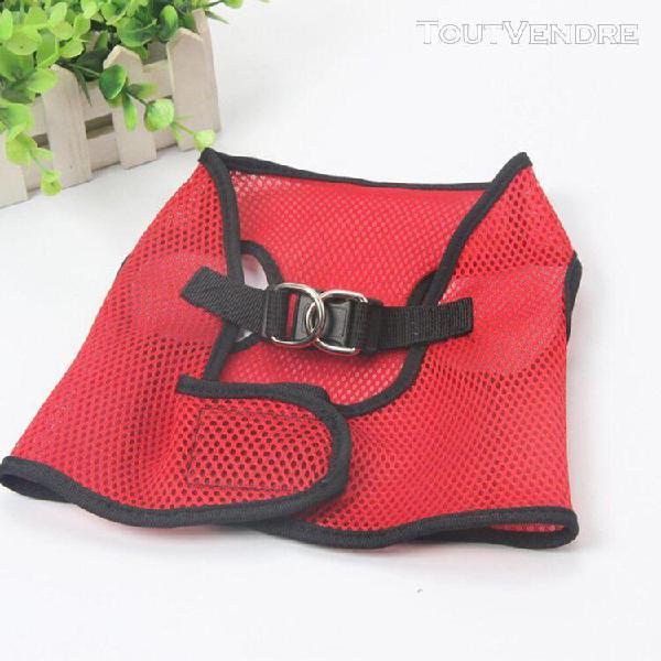 Boucle à dégagement rapide mesh pet harnais pour chien