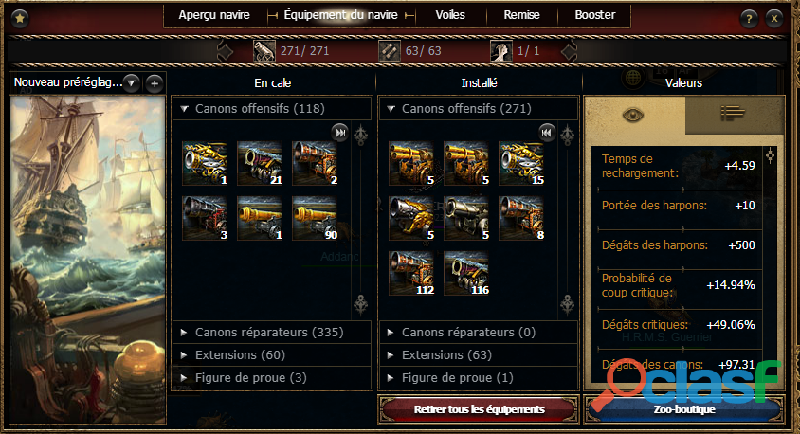 Compte Seafight fr3 3