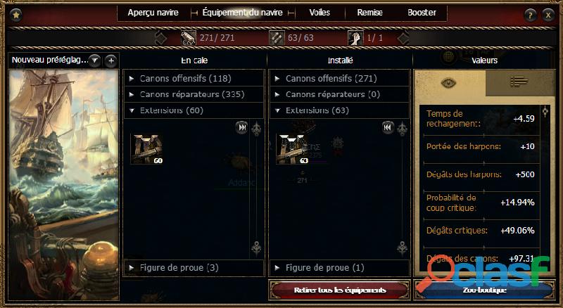 Compte Seafight fr3 4