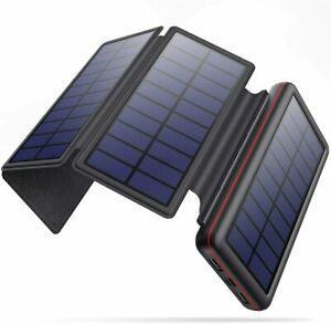 Iposible chargeur solaire 26800mah imperméable batterie