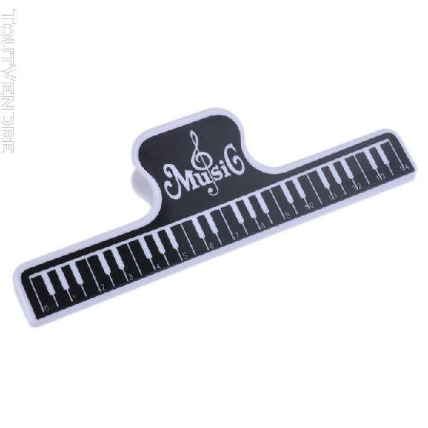 Mg-22 high force music book feuille clip pour guitare piano