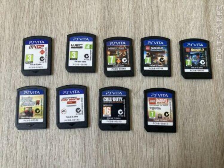 Ps vita 2000 16giga + 10 jeux
