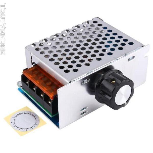 Régulateur de tension dimmer moteur électrique contrôleur