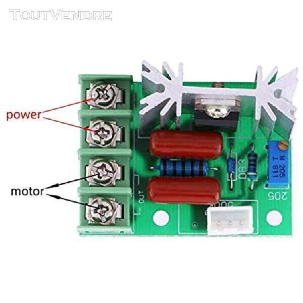 Ac 50-220v 2000w scr régulateur de tension électrique