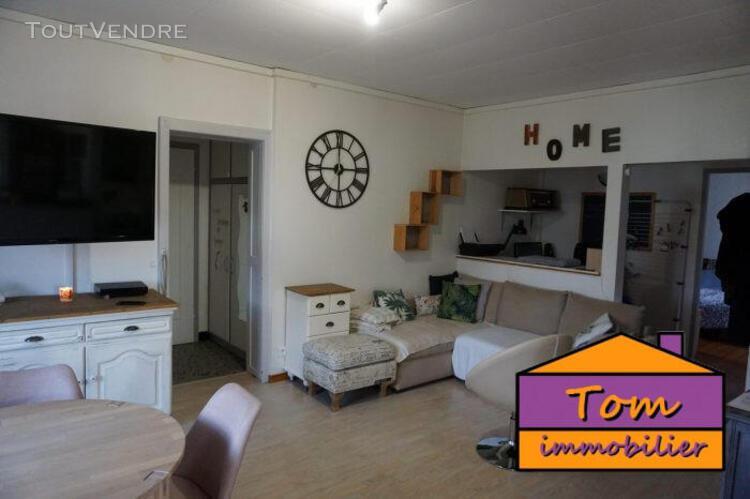 Appartement t3 74 m² avec jardin