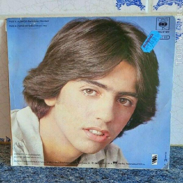 Disque vinyle 45 tours vinyle albator, le corsaire de l'espa
