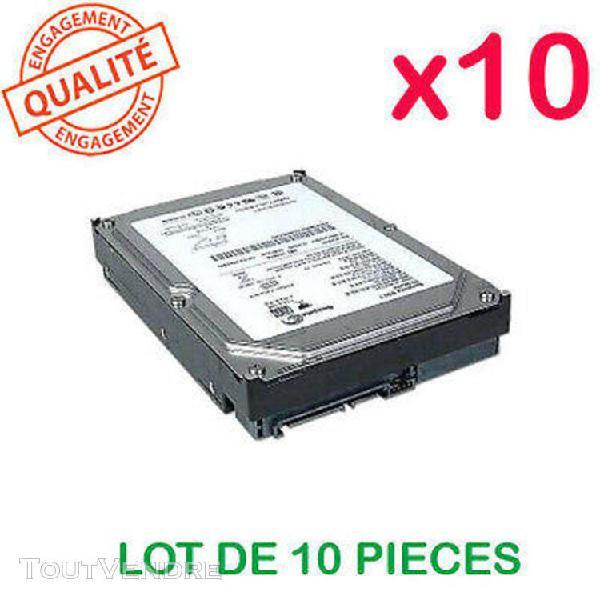 """Lot de 10 disques durs internes 3,5"""" sata 160 go pour pc tes"""