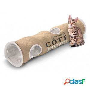 D&d homecollection tunnel côte ivoire pour chat par unité