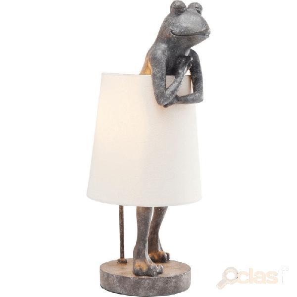 """""""lampe animal grenouille grise"""""""