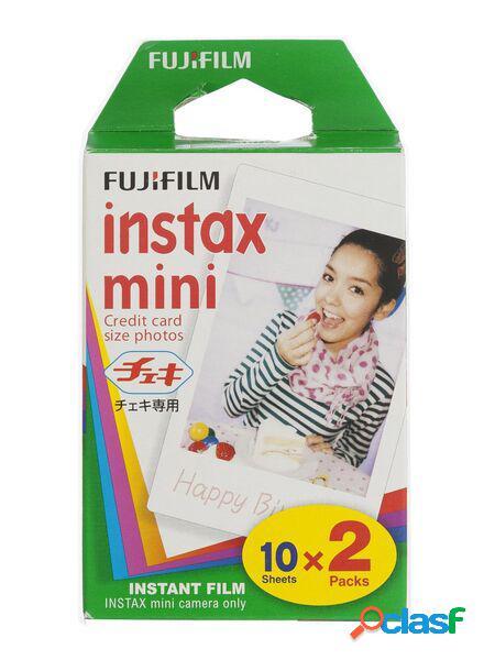 Hema film couleur instax mini glossy (2x10 poses) (blanc)