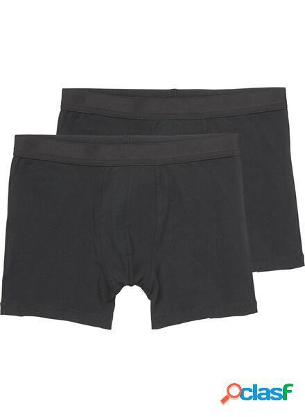 Hema 2 boxers homme long noir (noir)