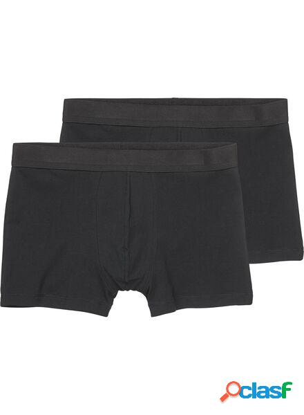 Hema 2 boxers homme short noir (noir)