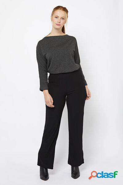 Hema pantalon femme large noir (noir)