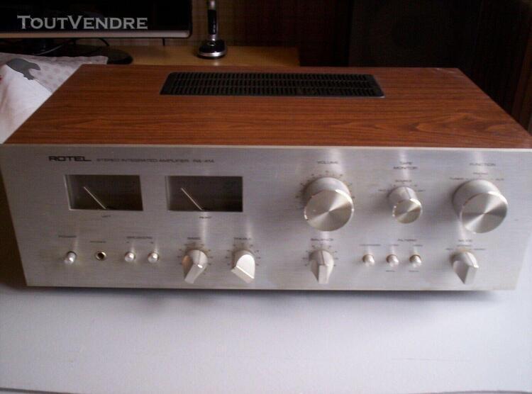 Amplificateur vintage rotel ra- 414